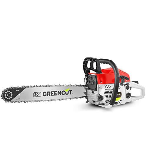 Greencut GS620X - Motosierra de gasolina, 62cc -...