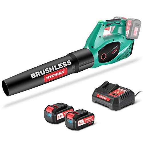 Soplador de Hojas a Bateria Brushless 36V, HYCHIKA...