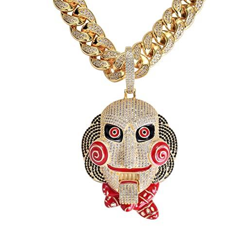 JrenBox Collar de Rapero Muñeca Hip-Hop Muñeca...