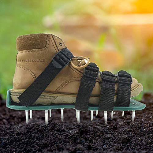 Aerador de césped Zapatos de aireación de...